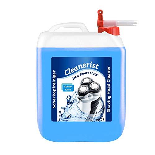 Cleanerist Jet & Smart Fluid - Líquido de limpieza para maquinilla de afeitar Philips S9711/31 S9111/41 - S9521/31 - S9161/41 - S9711/32 - S9111/31 - S9041/12 - S9031/12 (5 L, con grifo)