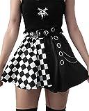 Black Skirt Goth Emo lace Skirt alt Skirt Black Mini Skirt XXS Bandage Pleated Skirt alt Clothes Aesthetic Skirt Black and red Skirt a line Mini Skirt Black Skirt Black Skirt alt Skirts Goth
