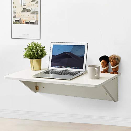 FMSBSC Wandklapptisch Holz Wandtisch klappbar Küchetisch Beistelltisch Laptoptisch Esstisch Schreibtisch Mehrzwecktisch,B,40 * 80cm/16 * 31in