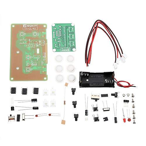Modulo electronico 6CH 2.4G distancia Kit de Control Channel Switch 6 piezas TX RX for coches de juguete remoto 100M con la antena de bricolaje