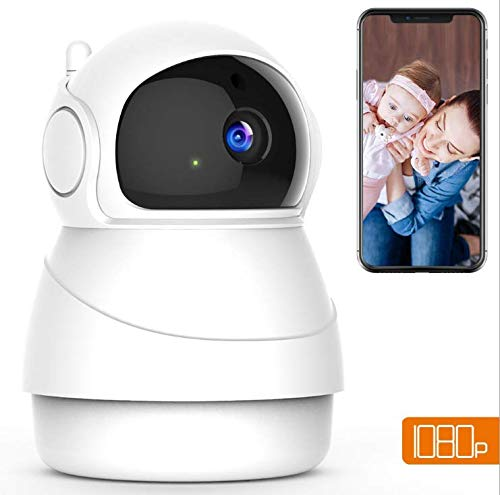 Best Bargain WiFi IP Camera,1080P Wireless Indoor Camera Home Security Surveillance System with Baby...