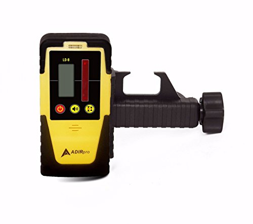 Hard Plastic Housing And Rubber Casing, Light And Compact, Universal Rotary Laser Receiver Detector Dual Display Ld-8 Topcon Leica Cst Pls
