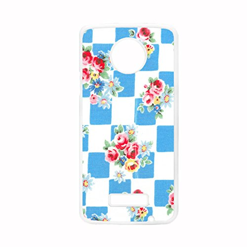 Tyboo For Moto Z Force For Boys Rigid Plastic Design Floral Flower Handkerchief Hipster Shells