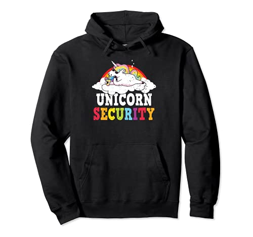 Unicorn Security Princesa Unicornio Mythtical Unicorn Lover Sudadera con Capucha