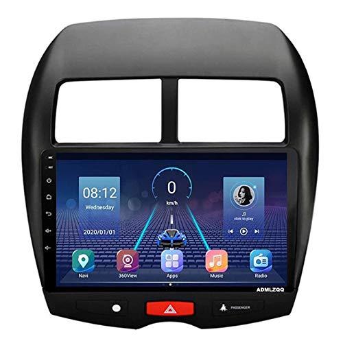 WY-CAR Unidad Principal Estéreo De Radio De Coche con Android 8.1 De 10.1 Pulgadas para Mitsubishi ASX 2013-2018, Navegación GPS/Bluetooth/FM/RDS/Control del Volante/Cámara Trasera,8core-WiFi: 2+32G