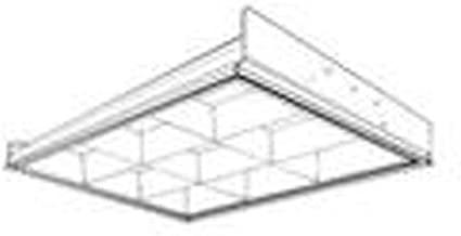 Lithonia Lighting 2PM3N-G-B-2-U316-9LD-MVOLT-ACNP 2' x 2' Parabolic Fixture