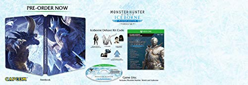 Monster Hunter World: Iceborne Master Edition Deluxe Xbox One – Special Edition – Xbox One