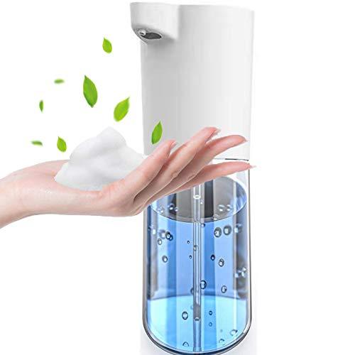 Q-WOOF Fseifenspender,Seifenspender Automatisch,Schaumseifenspender, M5-Sensor. Berührungsloser 500ml Seifenspender Mit Großer Kapazität,Zur Händedesinfektion In Küchen, Bädern und Hotels
