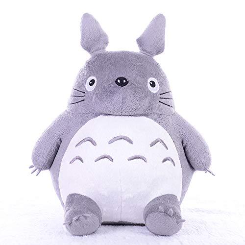 Boufery Juguetes de Peluche Totoro, muñecos de Animales de Peluche de Gato Gordo Lindo, cojín de Almohada Suave, Juguete para niños, cumpleaños para niños 45cm