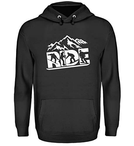Chorchester Ride für Snowboard Winter-Sport Ski Fans - Unisex Kapuzenpullover Hoodie