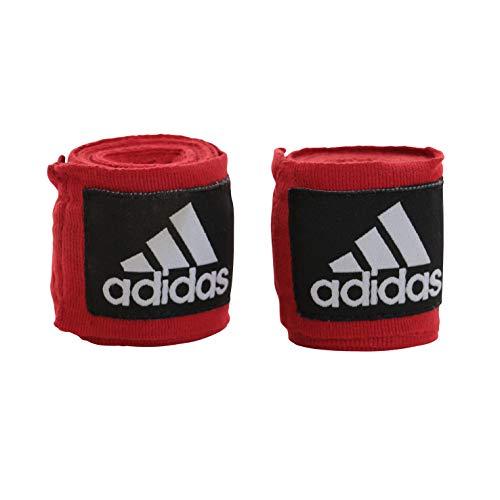 adidas Fasce Mani Boxing Crepe Bandage New AIBA Rules, Rosso, 5.7 x 4.5 m, ADIBP031