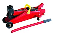 2 tonne trolley jack is lightweight Compact heavy duty unit with all steel construction Portable and easy to operate with swivel castors Lifting range is 135 mm to 330 mm