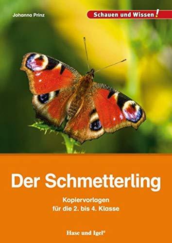 Der Schmetterling - Kopiervorlagen für die 2. bis 4. Klasse