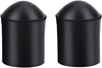 2pcs Double Bass Endpin Rubber Tip Stopper Black Protector End Cap Instrument Replacement Accessory