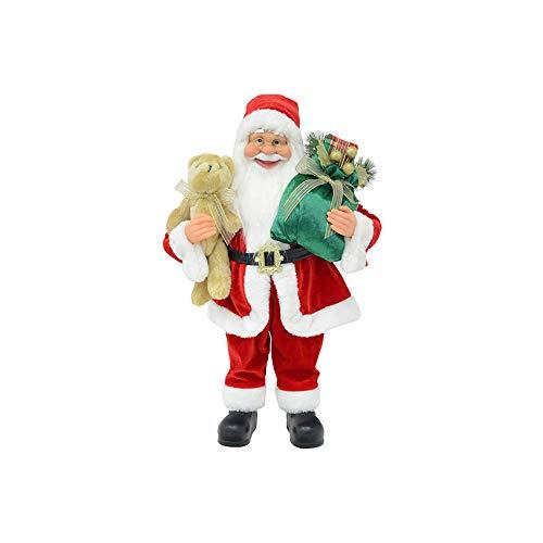 Mazzeo Babbo Natale in Piedi 40 cm