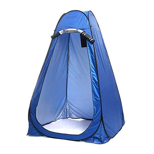 Tienda De Campaña Impermeable, Popup Quick Open Thick Warm WC Portatil Camping Protección UV a Prueba De Agua Cocina Ducha Camping Tienda Refugio Al Aire Libre Guardarropa Pesca Baño