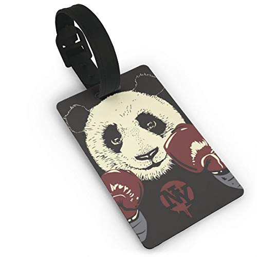 Etiqueta Para Equipaje Panda  marca