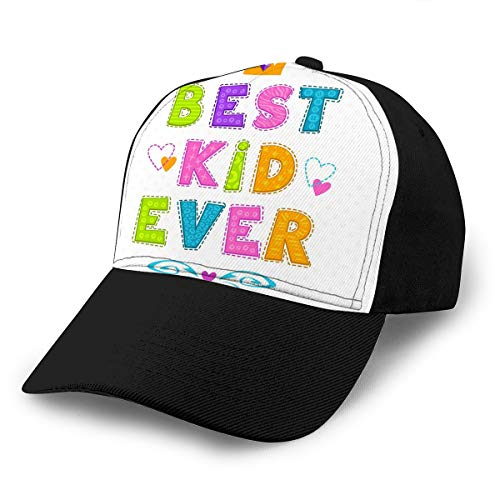 Baseball Hats Cap Best Kid Ever Hard Sun Sports Hats