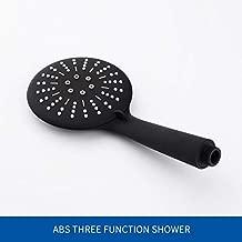 3 Función Negro Mate Ducha De Mano Montado En La Pared Ducha Con Manguera Y Titular De La Ducha Shower Only Shower only