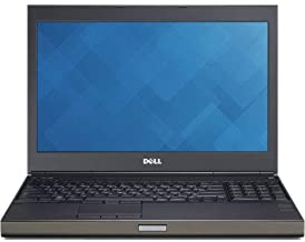 Dell M4800 15.6in FHD Ultrapowerful Mobile Workstation Business Laptop Computer, Intel Core i7-4810QM 2.8Ghz, 16GB RAM, 500GB HDD, WiFi AC, NVIDIA Quadro K2100M, Windows 10 Pro (Renewed)