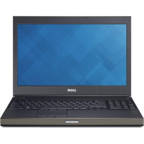 Dell M4800 15.6in FHD Ultrapowerful Mobile Workstation Business Laptop Computer, Intel Core i7-4900MQ 3.8GHz, 16GB RAM, 500GB HDD, WiFi AC, NVIDIA Quadro K2100M, Windows 10 Pro (Renewed)
