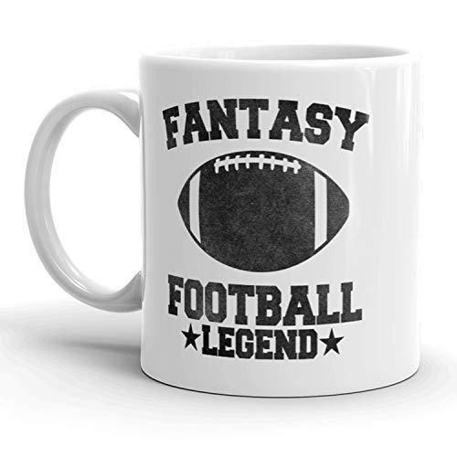 Fantasy Football Legend Mug Funny Sports Coffee Cup - 11oz