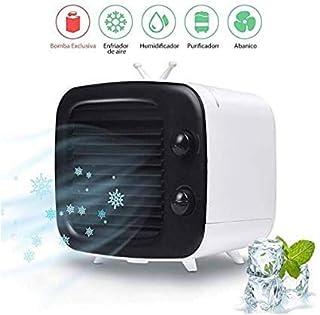 MXA Aire Acondicionado Refrigerador de Aire, Aire Acondicionado Estilo Mini TV, Tanque de Agua sin Fugas de Agua, Perilla de Viento Ajustable Nuevo humidificador de Filtro de Papel