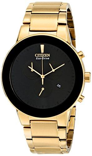 Citizen AT2242-55E - Reloj para Hombres, Correa de Acero Inoxidable Color Dorado