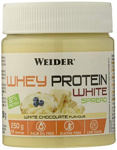 Weider Proteine Concentrate Whey White Spread, Sapore di cioccolato bianco - 250 Gr