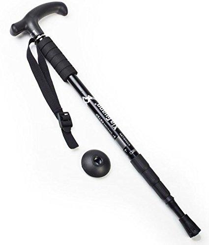 SaySure - Hiking camping AntiShock Walking Pole Trekking Sticks Crutches
