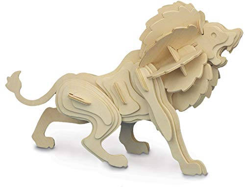 Lion - Woodcraft Construction Kit