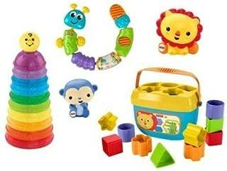 Fisher-Price Bright Basics Bundle, 5 Classic Toys Set