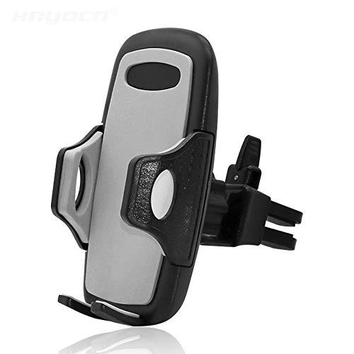 DFGHJ Tomacorriente ventilado Universal Soporte para teléfono móvil montado en el automóvil Soporte Universal para ventilación de Aire para Soporte Samsung/Xiaomi/Oneplus 5