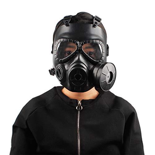 WFWPY Doppelfilter Zubehör Respirator Kanister Helm Atemschutz Profi Aktivkohle Sicherheit Vollgesichtsschutz Pestizid für Farbspritz Staub Schutz Geruchsminderung