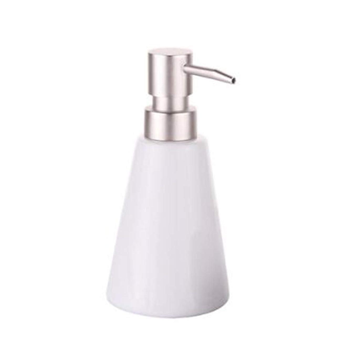 TLMY Conical Ceramic Hand Sanitizer Bottle Bottling, Push-Type Soap Bottle, Bathroom Utensils Bathroom Lotion Bottle soap Dispenser