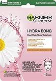 Garnier Skin Active Mascarilla de Tejido HydraBomb, Hidratante y Calmante, para Pieles Secas y Sensibles