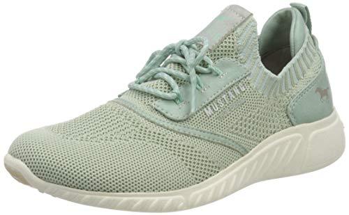 MUSTANG Damen 1315-306-706 Sneaker, Grün (Mintgrün 706), 38 EU