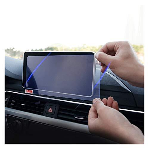 Zhbqcmou Pantalla de navegación de Vidrio Templado de automóviles Pegatina de protección Protectora LCD Película de visualización para Audi A4 B9 S4 2016-2018 2019 HNZHB (Color Name : 8.7 Inch HD)