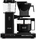 Technivorm Moccamaster KBG741 10-Cup/40oz Handmade Coffee Brewer, Black