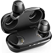 ENACFIRE G10 Bluetooth-Ohrhörer Bluetooth-Kopfhörer 36H-Wiedergabezeit, IPX8 wasserdichter drahtloser Sport-Kopfhörer im Ohr, USB-C-Schnellladung präzise Berührung Zweikanal- und Mono-Modus