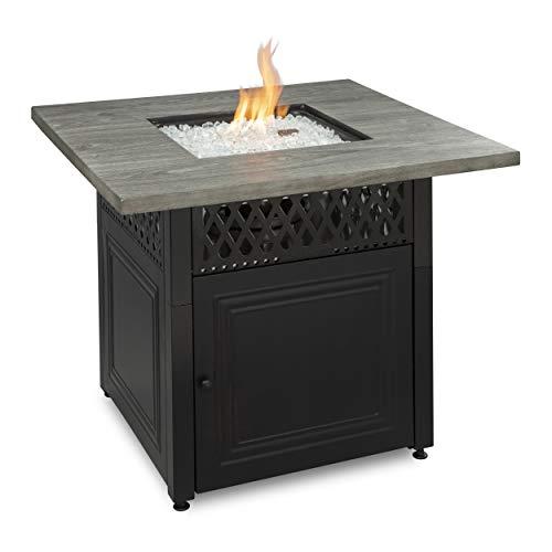 Endless Summer Dakota LP Gas Outdoor Fire Pit Table with Dual Heat Technology - GAD19101ES