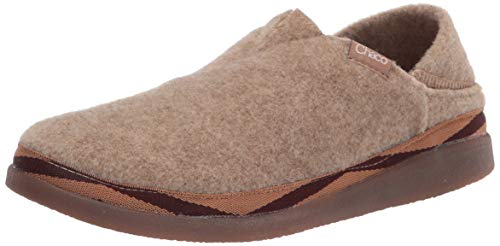 Chaco womens Revel Moccasin, Tan, 10.5 US