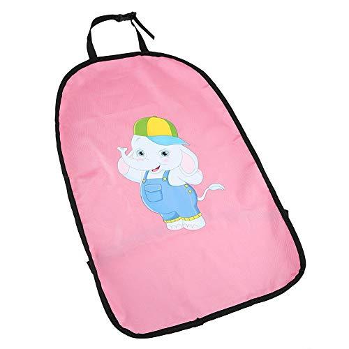 Bonita funda para asiento de coche, funda de asiento de coche no tóxica, segura reutilizable de moda para el(Little Elephant with Hat)