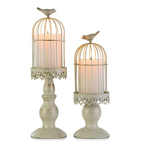Birdcage Candle Holder Vintage Cand…