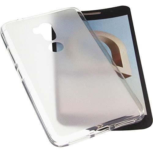 Voviqi Hülle für Alcatel A7 XL, Hülle für Alcatel A7 XL Handyhülle für Alcatel A7 XL- Crystal Clear Ultra Dünn Durchsichtige Silikon Schutzhülle TPU Case für Alcatel A7 XL, Transparent