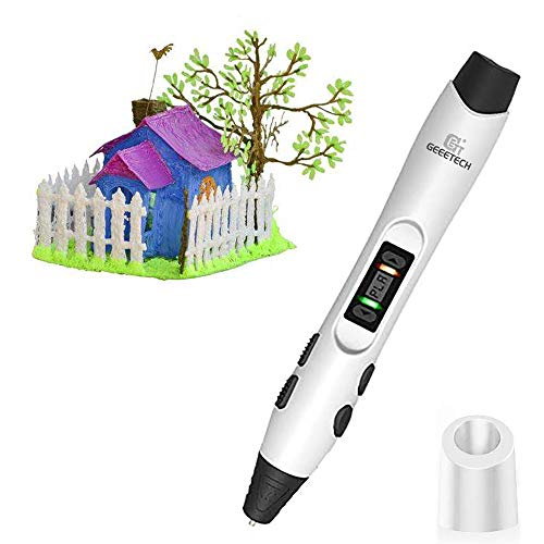 3D Pen, GEEETCH 3D Printing Pens,Intelligent LCD Screen Compatible With PLA/ABS Filament 1.75mm,for Kids Adults