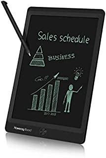 Howeasy Board 10 Inch LCD Writing Tablet, Electronic Handwriting Paper Drawing Doodle Board Gift for Kids & Adults at Home, School & Office - (Black)