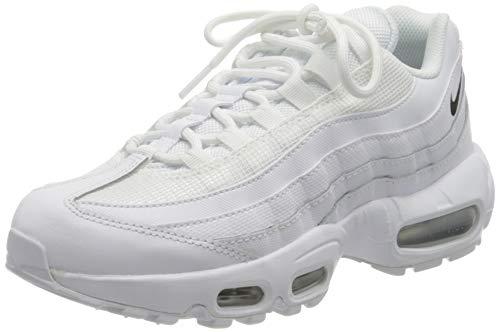 Nike W Air Max 95, Chaussure de Course Femme, White Black White, 39 EU