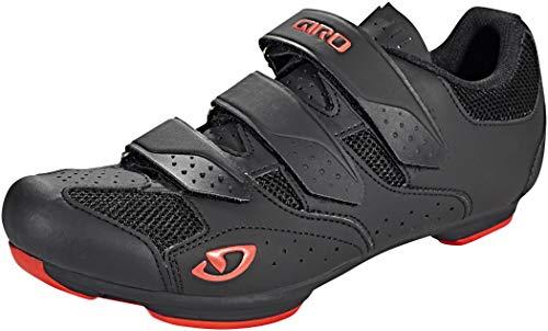 Giro Unisex– Erwachsene Rev Rennrad Schuhe, black/bright red, 44