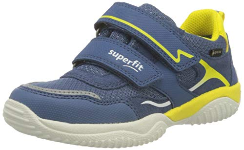 Superfit Storm Gore-Tex, Zapatillas, Azul Amarillo, 38 EU